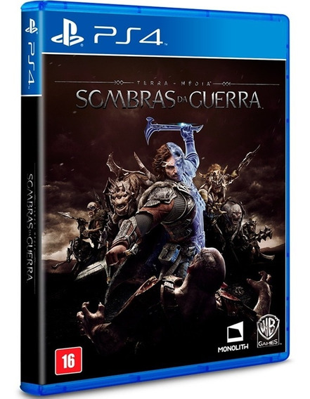Sombras Da Guerra Ps4 Shadow Of War Original Midia Fisica Br