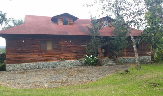 Casa Tipo Cabaña En Jarabacoa Rmc-111