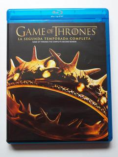 Game Of Thrones - Juego De Tronos - Temporada 2 - Blu-ray