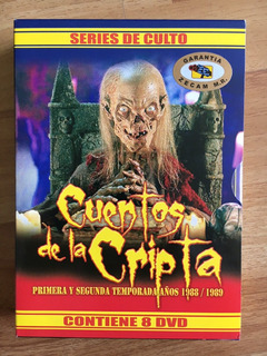 Cuentos De La Cripta 1ra Y 2da Temporada Full Dvd