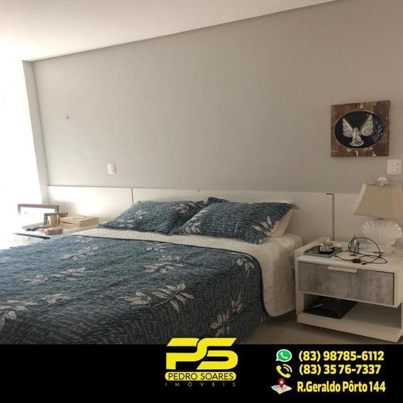 (oportunidade) Apartamento Em Camboinha Por 24mil De Dez À Jan - Ap2048