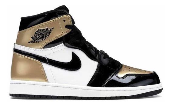 Sneakers Original Jordan 1 Retro High Nrg Gold Toe Original