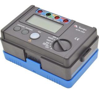 Terrômetro Digital Lcd 3 3/4 Dígitos Mtr-1522 - Minipa