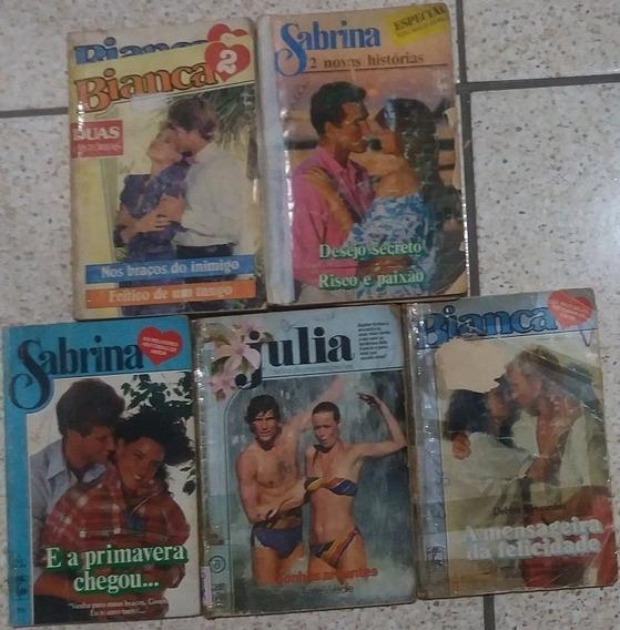 Sonhos Ardentes E Outros 04 Livro Sabrina Julia Bianca Raros