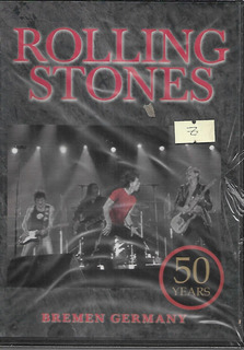 The Rolling Stones Album 50 Years Bremen Germany Dvd Nuevo