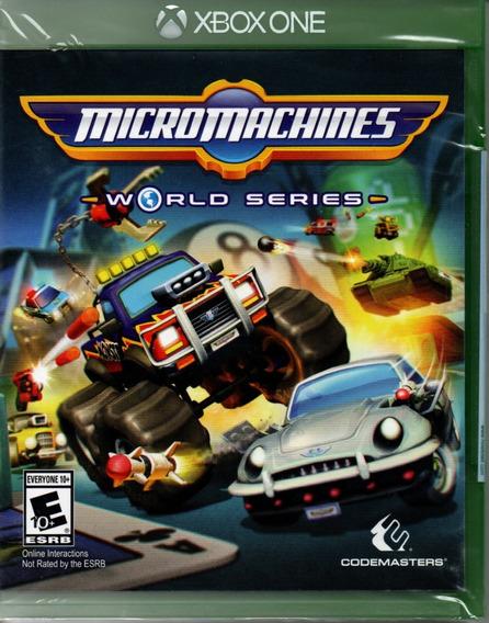 Micro Machines World Series Xbox One Novo Lacrado