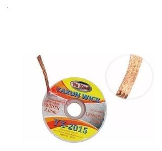Malha Dessoldadora Yaxun Yx-2015 2mm X 1,5m Bga Reball Cobre