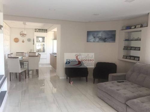 Imagem 1 de 23 de Cobertura Com 3 Dormitórios À Venda, 202 M² Por R$ 1.200.000,00 - Vila Prudente - São Paulo/sp - Co0077