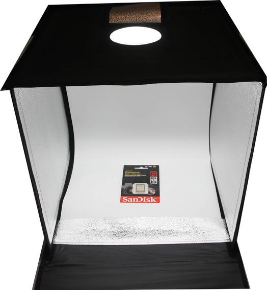 Mini Estúdio Fotográfico Led 40 X 40 Portátil Alta Qualidade