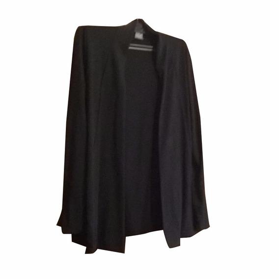 Saco Negro De Modal Muy Apropiado Para Esta Temporada