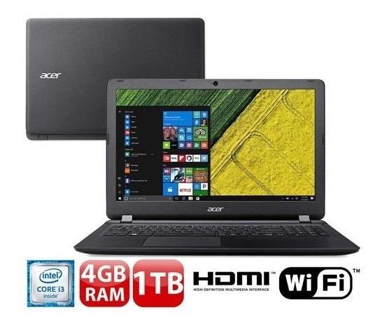 Notebook Es1-572-37pz, Processador Core I3