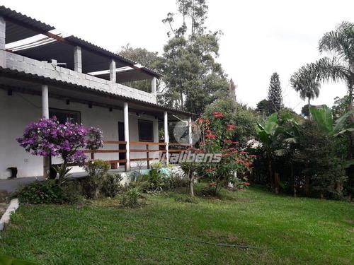 Chácara Com 2 Dormitórios À Venda, 1100 M² Por R$ 320.000,00 - Recanto Vital Brasil - Mauá/sp - Ch0004