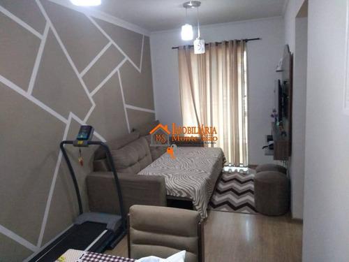 Imagem 1 de 11 de Apartamento À Venda, 53 M² Por R$ 195.000,00 - Mikail Ii - Guarulhos/sp - Ap2573