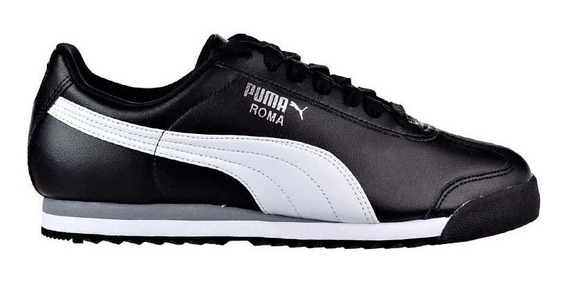 Zapatillas De Hombre Puma Roma Basic 353572-11 Cne