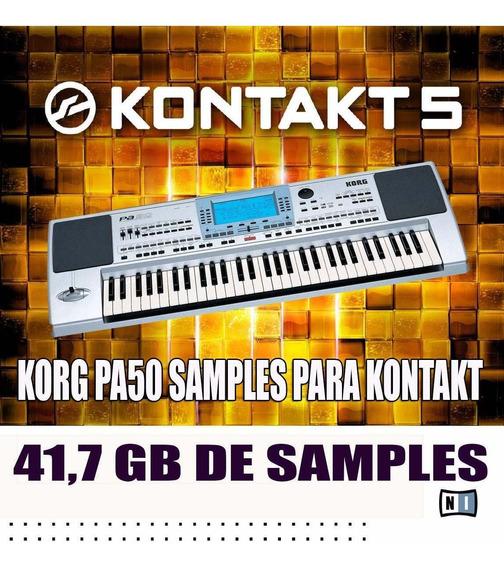 Kit Kontakt 5 + Os Melhores Samples (+ De 40gb,de Samples)