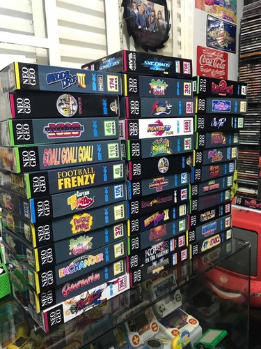 Caixa Fatal Fury 3 Neo Geo Mvs/aes