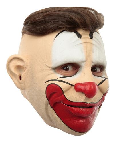 Máscara De Látex Friendly Clown Payaso Amigable Divertido