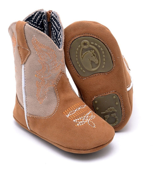 Botinha Texana Infantil Baby Kids Country Peãozinho Boots