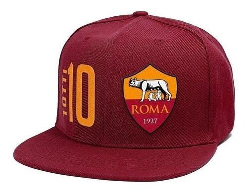 Gorra Caps Plana Totti Roma