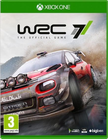 Jogo Wrc 7 Rally Midia Fisica Original Novo Lacrado Promoção