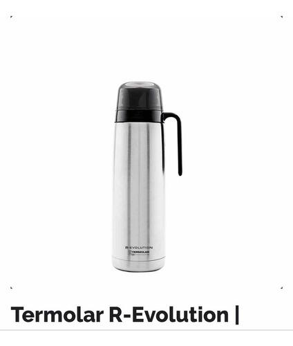 Termo Acero Inoxidable Termolar E-evolution Pico Matero 1 L.