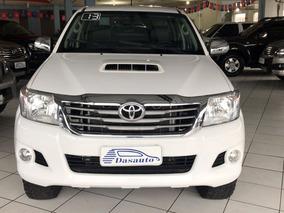 Toyota Hilux 3.0 Srv Cd 4x4 Aut 2013 Branca - Dasauto