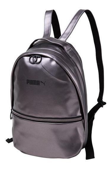 Mochila Puma Prime Classics Prata - Original