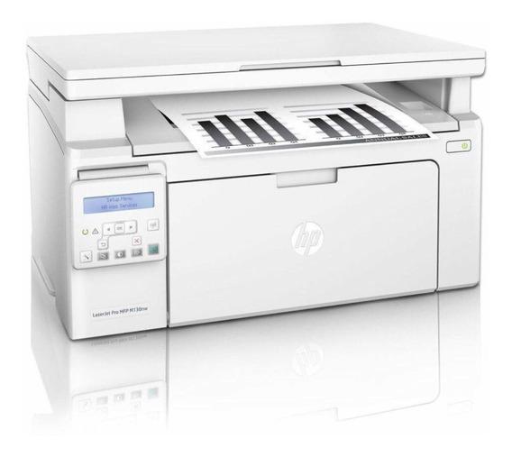 Impressora Multifuncional 3 Em 1 Hp Pro Mfp M130nw