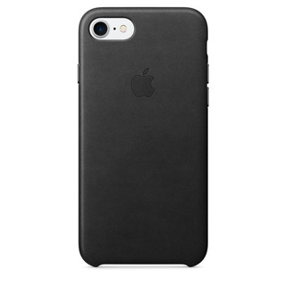 Capa Para iPhone 7 Couro Preto - Apple (mmy52zm/a)