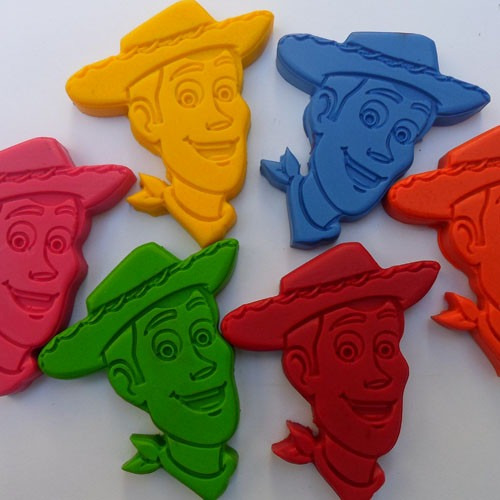 Crayones Souvenirs Toy Story Woody X 24