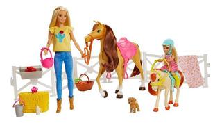 Barbie Y Chelsea Diversión Con Caballos