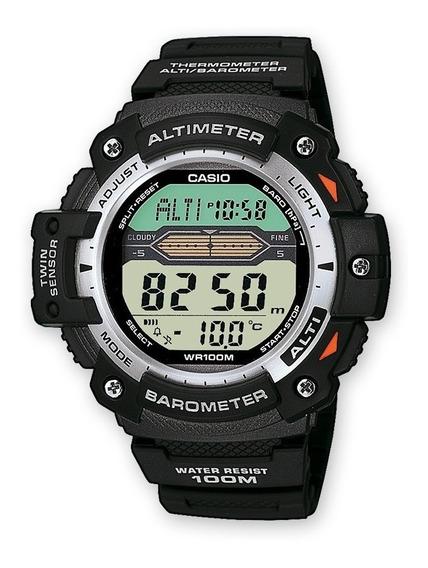 Reloj Casio Hombre Deportivo Barometro Altimetro Cronometro