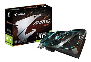 Placa de video Gigabyte GeForce RTX 20 Series GV-N208TAORUS X-11GC 11GB