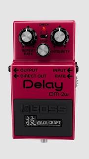 Pedal Efecto Guitarra Boss Delay Dm-2w Waza Craft Dm2w