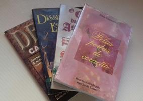 Lote 4 Livros Diversos Espiritas 01