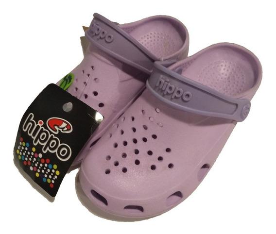 Suecos Hippo Niños Tipo Crocs