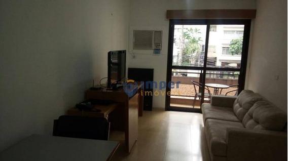 Apartamento Com 1 Dormitório À Venda, 45 M² Por R$ 385.000 - Jardins - São Paulo/sp - Ap12240