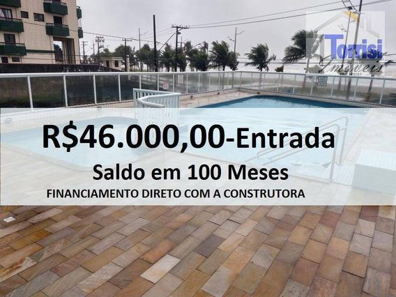 Apartamento Em Praia Grande, 01 Dormitório, Maracanã, Ap2302 - Ap2302