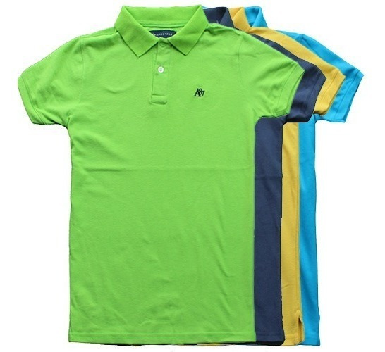 Lote 10 Playeras Tipo Polo Hollister Aeropostale American