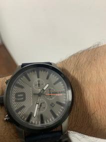 Relógio Diesel Original Novo Na Caixa Com Plastico - Dz 4456