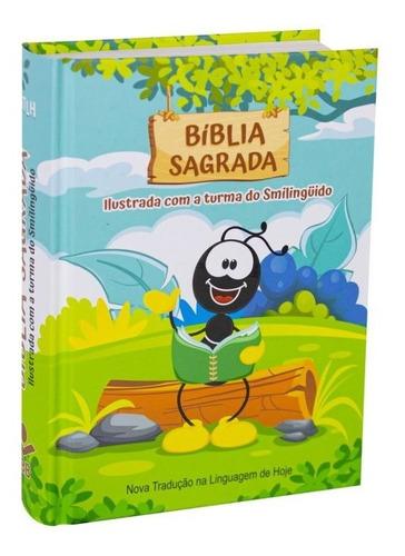 Bíblia Sagrada Ilustrada Com A Turma Do Smilinguido