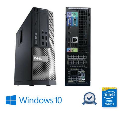 Imagem 1 de 2 de Computador Dell 7010 Intel Core I3 4gb Ram Ssd 120 Win10 Pró