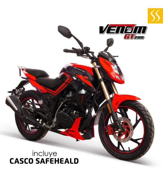 Moto Tundra Venom 200cc Gt200 Año 2020 Luz Led Nueva