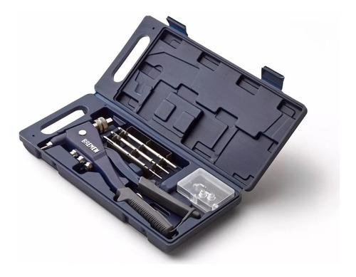 Remachadora Dual Pop Y Tuerca Bremen Remache Roscado Kit