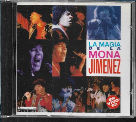 La Mona Jimenez Album La Magia En Vivo 1992 Sello Philiphs
