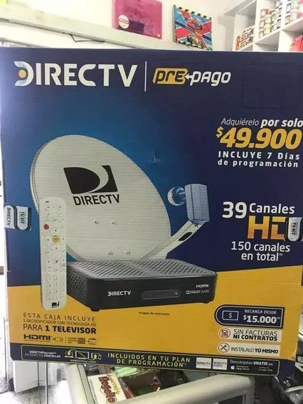 Kit Directv Hd Prepago Colombiano Homologados