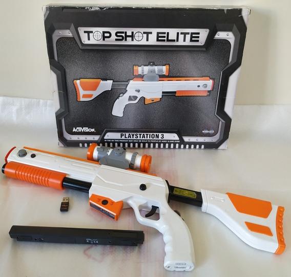 Rifle Top Shot Elite Playstation 3 Ps3 Original Activision
