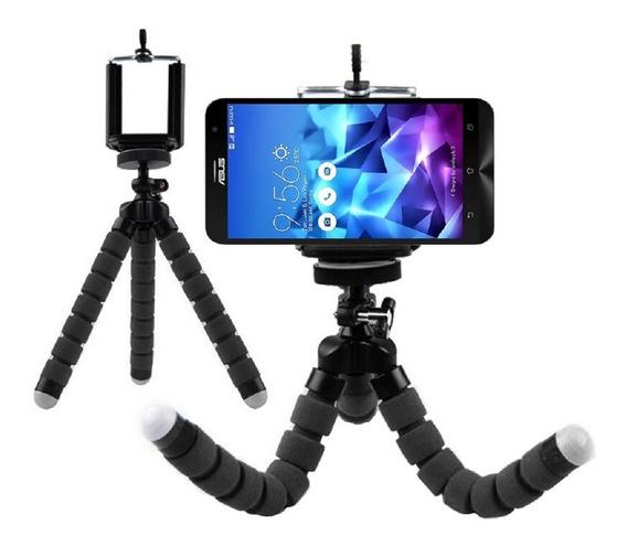 Tripé Para Câmera Flexível Suporte Universal Barato Youtuber