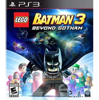 Lego Batman 3 Beyond Gotham Ps3 Goroplay Digital