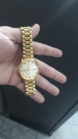 Relógio Suíço Marca Mido Original Banhado A Ouro